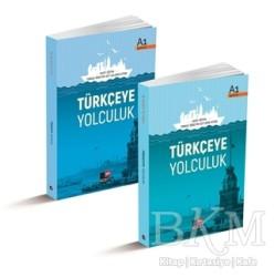 Kesit Yayınları - Türkçeye Yolculuk: A1 Ders Kitabı - A1 Çalışma Kitabı (2 Kitap Set)
