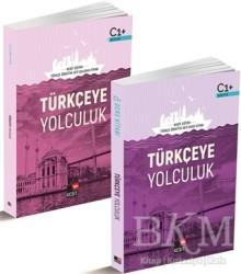 Kesit Yayınları - Türkçeye Yolculuk C1 Ders Kitabı / C1 Çalışma Kitabı (2 Kitap Set)