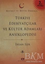 Elvan Yayınları - Türkiye Edebiyatçılar ve Kültür Adamları Ansiklopedisi Cilt: 8