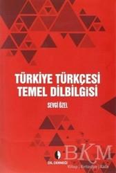 Dil Derneği Kitapları - Türkiye Türkçesi Temel Dilbilgisi