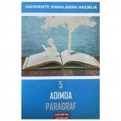 Aritmetik Yayınları - TYT AYT 5 Adımda Paragraf Soru Bankası Aritmetik Yayınları