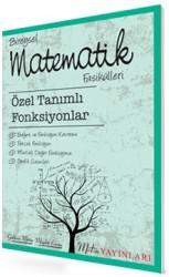 Metin Yayınları - TYT AYT Bireysel Matematik Fasikülleri Özel Tanımlı Fonksiyonlar Metin Yayınları