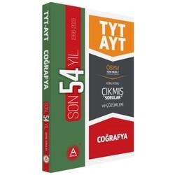 A Yayınları - TYT AYT Coğrafya Son 54 Yıl Konu Konu Tamamı Çözümlü Çıkmış Sorular A Yayınları