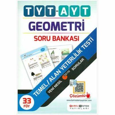 TYT AYT Geometri Soru Bankası Farklı Sistem Yayınları