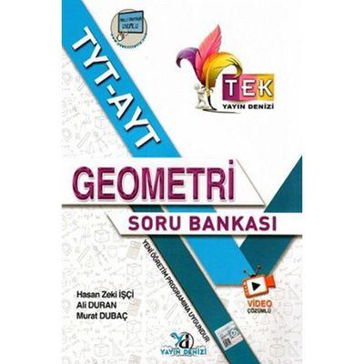 TYT AYT Geometri TEK Serisi Video Çözümlü Soru Bankası Yayın Denizi Yayınları