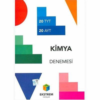 TYT AYT Kimya 20 Deneme Ekstrem Yayınları
