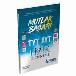 Muba Yayınları - TYT AYT Mutlak Başarı Fizik 25 Deneme Muba Yayınları