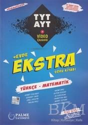 Palme Yayıncılık - Hazırlık Kitapları - TYT-AYT Türkçe - Matematik Evde Ekstra Soru Kitabı