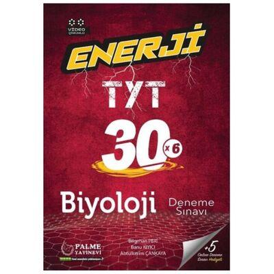TYT Biyoloji Enerji 30 Deneme Sınavı Palme Yayınları
