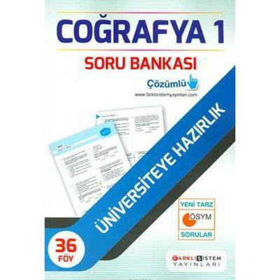 TYT Coğrafya Soru Bankası 36 Föy Farklı Sistem Yayınları