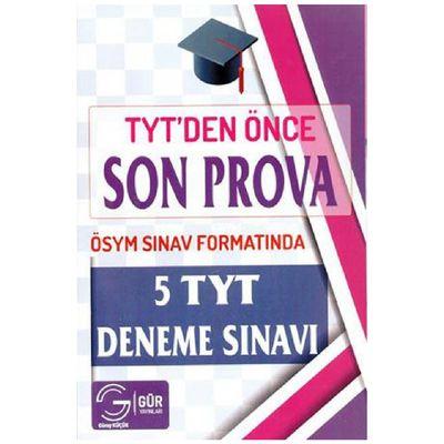 TYT den Önce Son Prova 5 Deneme Sınavı