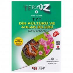 Nitelik Yayınları - TYT Din Kültürü ve Ahlak Bilgisi Tersyüz Soru Bankası Nitelik Yayınları