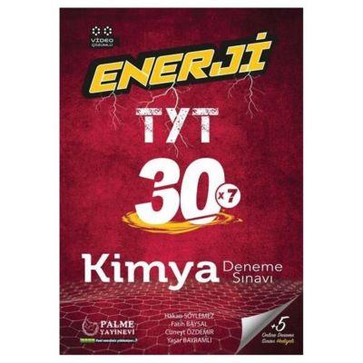 TYT Enerji Kimya 30 Deneme Palme Yayınevi
