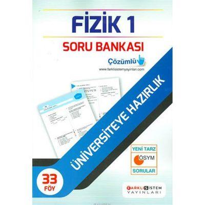 TYT Fizik Soru Bankası 33 Föy Farklı Sistem Yayınları