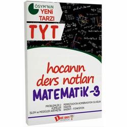 Dahi Adam Yayıncılık - TYT Hocanın Ders Notları Matematik 3 Konu Anlatımı Dahi Adam Yayınları