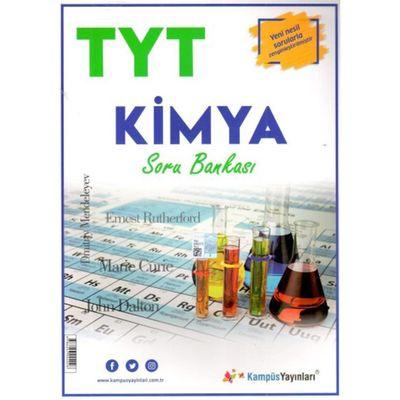 TYT Kimya Soru Bankası Kampüs Yayınları