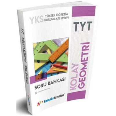 TYT Kolay Geometri Soru Bankası Kampüs Yayınları