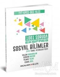 Hocalara Geldik - TYT KPSS DGS ALES 1001 Soruda Ekspres Sosyal Bilimler Hocalara Geldik