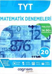 Çağrışım Yayınları - TYT Matematik 20 Denemeleri Çağrışım Yayınları