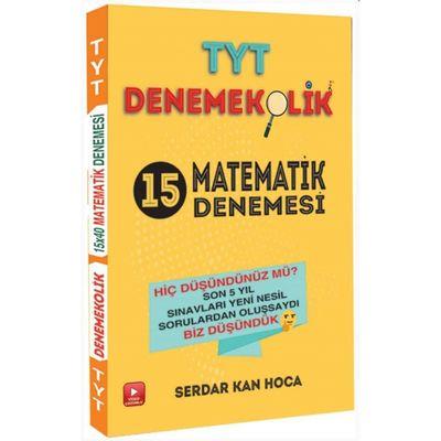 TYT Matematik Video Çözümlü Denemekolik 15 Denemesi Feybe Yayınları