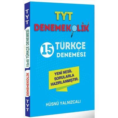 TYT Türkçe Denemekolik 15 Denemesi Feybe Yayınları