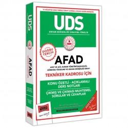Yargı Yayınları - UDS AFAD Tekniker Kadrosu İçin Konu Özetli Çıkmış ve Çıkması Muhtemel Sorular Yargı Yayınları
