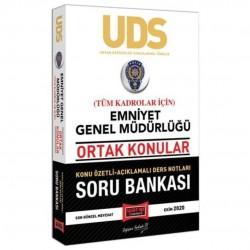 Yargı Yayınları - UDS Emniyet Genel Müdürlüğü Ortak Konular Tüm Kadrolar İçin Konu Özetli Soru Bankası Yargı Yayınları