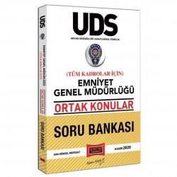 Yargı Yayınları - UDS Emniyet Genel Müdürlüğü Ortak Konular Tüm Kadrolar İçin Soru Bankası Yargı Yayınları