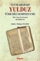 BilgeSu Yayıncılık - Uluslararası Yulduz Türk Dili Sempozyumu
