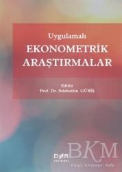 Der Yayınları - Uygulamalı Ekonometrik Araştırmalar
