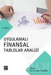 Gazi Kitabevi - Uygulamalı Finansal Tablolar Analizi