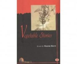 Kapadokya Kitabevi - Vegetable Stories Sharon Hurst İngilizce Kapadokya Kitabevi