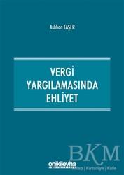 On İki Levha Yayınları - Vergi Yargılamasında Ehliyet