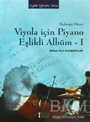 Müzik Eğitimi Yayınları - Viyola İçin Piyano Eşlikli Albüm - 1