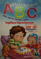 Karatay Çocuk - Whiteboard ABC First Step in Learning English / Yaz-Sil Bitmeyen Yazı Defteri
