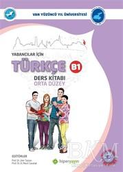 Hiperlink Yayınları - Yabancılar İçin Türkçe Ders Kitabı Orta Düzey B1