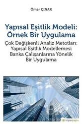 Hiperlink Yayınları - Yapısal Eşitlik Modeli: Örnek Bir Uygulama
