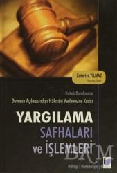 Adalet Yayınevi - Yargılama Safhaları ve İşlemleri