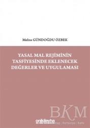 On İki Levha Yayınları - Yasal Mal Rejiminin Tasfiyesinde Eklenecek Değerler ve Uygulaması