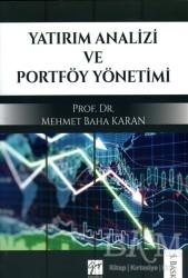 Gazi Kitabevi - Yatırım Analizi ve Portföy Yönetimi