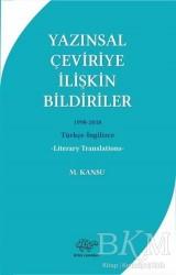 Ürün Yayınları - Yazınsal Çeviriye İlişkin Bildiriler