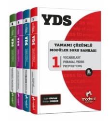 Modadil Yayınları - YDS Modüler Soru Bankası Seti Modadil Yayınları