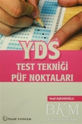 Palme Yayıncılık - Hazırlık Kitapları - YDS Test Tekniği Püf Noktaları Palme Yayınları