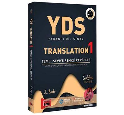 YDS Yabancı Dil Sınavı Translation 1 Temel Seviye Renkli Çeviriler Yargı Yayınları
