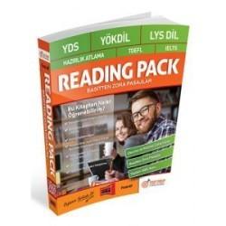 Yargı Yayınları - YDS YÖKDİL LYS Dil Hazırlık Atlama Reading Pack Basitten Zora Pasajlar Yargı Yayınları