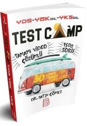 Benim Hocam Yayınları - YDS YÖKDİL YKSDİL TEST CAMP Soru Kitabı Benim Hocam Yayınları