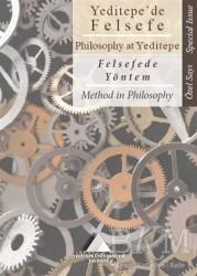 Yeditepe Üniversitesi Yayınevi - Yeditepe'de Felsefe - Felsefede Yöntem