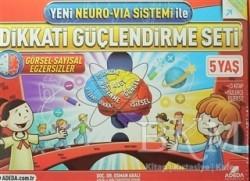 Adeda Yayınları - Yeni Neuro-Via Sistemi ile Dikkati Güçlendirme Seti 5 Yaş
