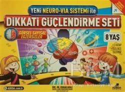 Adeda Yayınları - Yeni Neuro-Via Sistemi ile Dikkati Güçlendirme Seti 8 Yaş (3 Kitap)