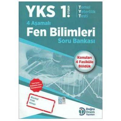 YKS 1. Oturum 4 Aşamalı Fen Bilimleri Soru Bankası Doğru Orantı Yayınları